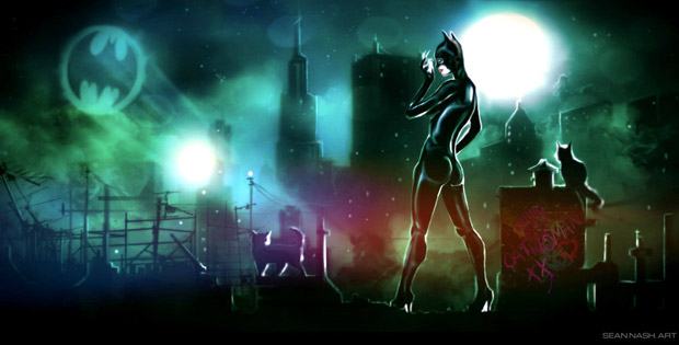 Catwoman by Sean Nash