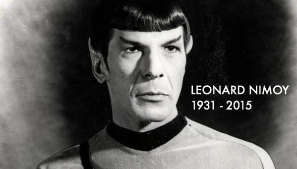 Leonard Nimoy 1931-2015.