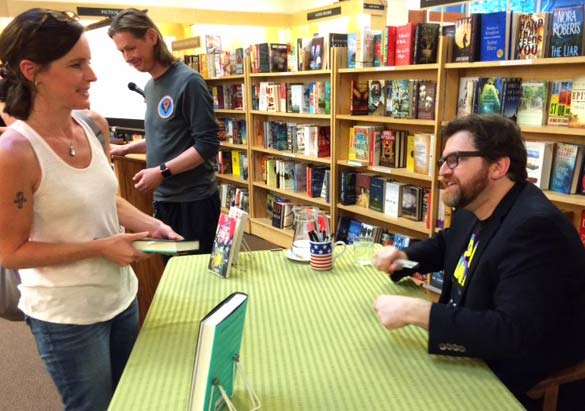 Ernest Cline signed my copy of Armada.