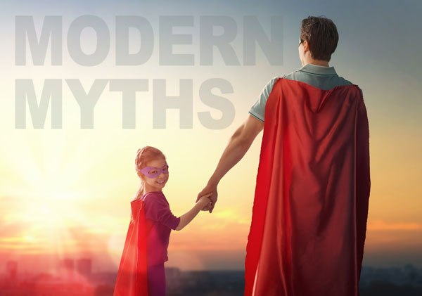superhero movies modern myths